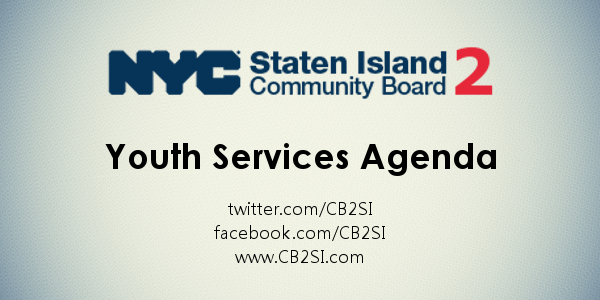 CB2 youth Services Agenda