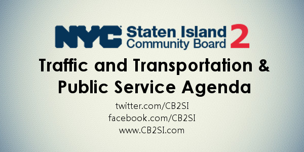 CB2SI Traffic and Transportation Meeting